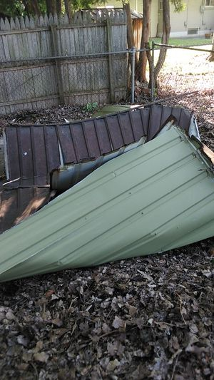 Free steel shed for scrap for Sale in Clinton Township, MI
