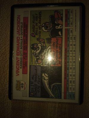 Bo Jackson, Tino Martinez Sammy Taylor postal stamps Ed Mathews and Ernie Banks * 3 for Sale in Wenatchee, WA