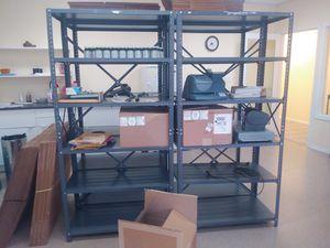 "Very sturdy storage shelves. 18""x 36""x72"" for Sale in Duvall, WA"