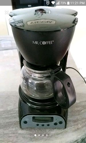 Mr. Coffee - 4 cup coffee maker w/filters for Sale in San Jose, CA