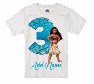 Moana birthday shirts all sizes for Sale in Brooklyn, NY