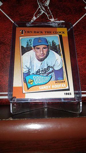 1990 Topps Baseball! Hot Sandy Koufax Card! for Sale in La Puente, CA