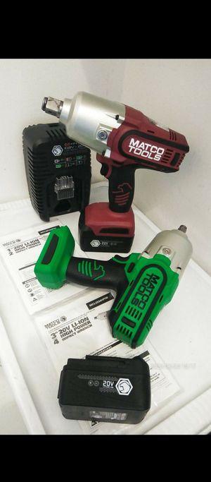 Matco tools nuevo 3/4--1/2 for Sale in Long Beach, CA