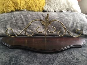 """Authentic """" Solid Wood Shelf"""" Home interior Frame for Sale in Los Angeles, CA"""