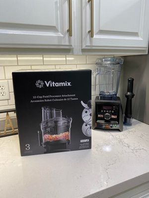 New Vitamix 12-Cup Food Processor Attachment - Black for Sale in Metairie, LA