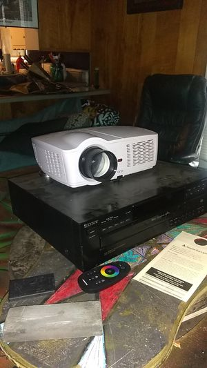 Onn 720p Projector with Roku Stick for Sale in Marietta, GA