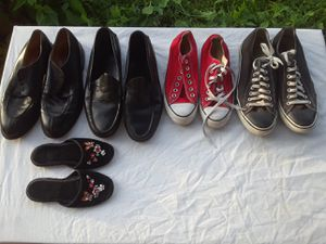 SHOES FOR SALE [Mens dress shoes 9.5,10, Converse A☆ 6,10... for Sale in Rockville, MD