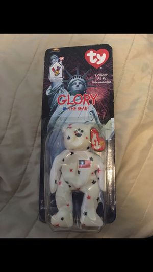 Rare McDonald's Ty Glory the bear in the 1999 for Sale in Alexandria, VA
