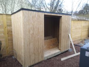 4x8.shed a bout finished. for Sale in Murfreesboro, TN