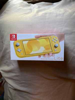Nintendo Switch Lite - Yellow for Sale in New Albany, OH