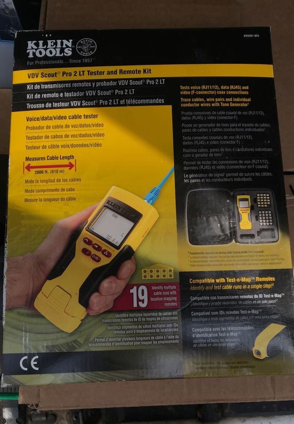 VDV Scout Pro 2 LT Tester and Remote Kit