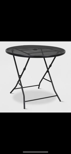 Target patio set table and 2 chairs for Sale in Chicago, IL