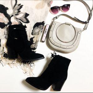 Black heeled booties for Sale in Long Beach, CA