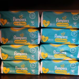 6 Packages Of Pampers Swaddlers Diapers Size Newborn for Sale in Chula Vista, CA