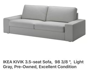 Couch - IKEA KIVIK 3.5-seat sofa - excellent condition for Sale in Miami Beach, FL