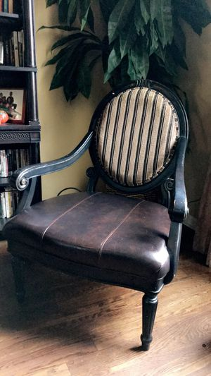 Beautiful leather armchair for Sale in Franklin, TN