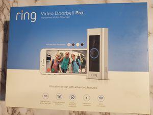 Ring video door pro for Sale in Fresno, CA