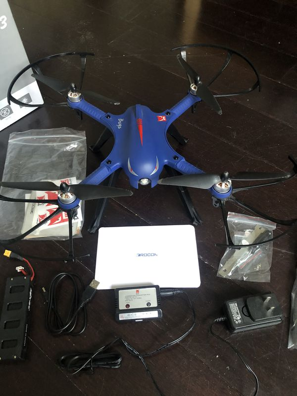Drocon Bugs 3 Drone Used with GoPro Mount