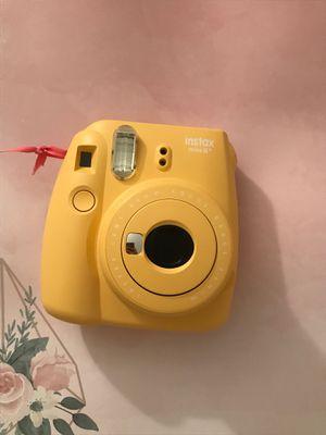 Fujifilm-instax mini 8+ instant film camers (yellow) for Sale in Buffalo, NY