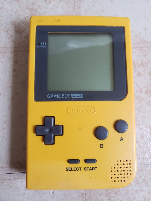Game Boy Pocket YELLOW Console MGB-001 by Nintendo.