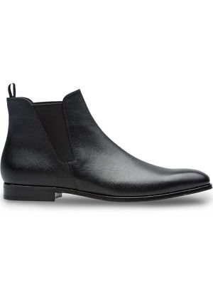 Prada Saffiano leather Chelsea boots for Sale in Chevy Chase, MD