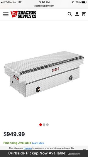 New in Box...Weatherguard aluminum tool box for Sale in Mustang, OK