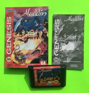Sega Genesis Aladdin Game for Sale in Missoula, MT