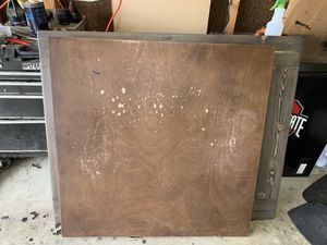 """""""Free"""" 2 scrap wood table top for Sale in Obetz, OH"""