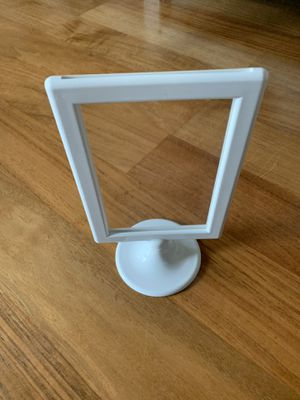 4x6 white frames (7) for Sale in Seattle, WA