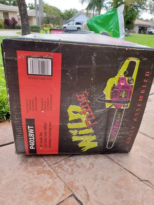 Wild Thing Chainsaw for Sale in Coral Springs, FL