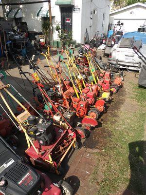 Lawn mowers lawn mowers and more lawn mowers for Sale in Bell Gardens, CA