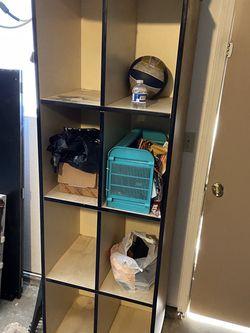 8 Cube Shelf Book Shelf. Measurements In Pics for Sale in Fresno,  CA