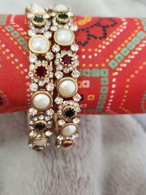 Bangles set/bracelets.2 pc for Sale in Peoria, IL