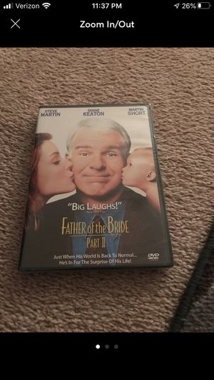 Father of the Bride part 2 Dvd for Sale in Normal, IL