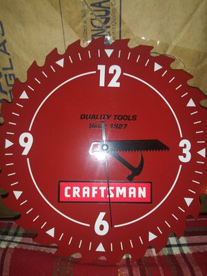 Clock Craftsman for Sale in Saint Paul, MN