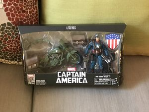 Marvel legends Captain America and motorcycle for Sale in Manchaca, TX