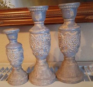 3 Beautiful Candlesticks for Sale in Keller, TX