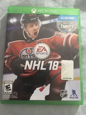 NHL 18 for Sale in Quincy, IL