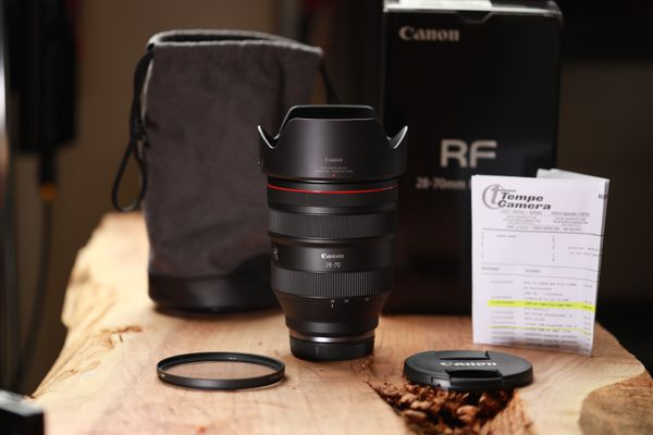 Canon RF 28-70mm f/2L USM Lens B+W 95mm UV MRC Filter
