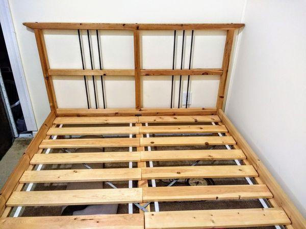 Full size bed frame