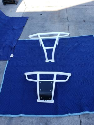 White rzr bumpers and nerf bars for Sale in Garden Grove, CA