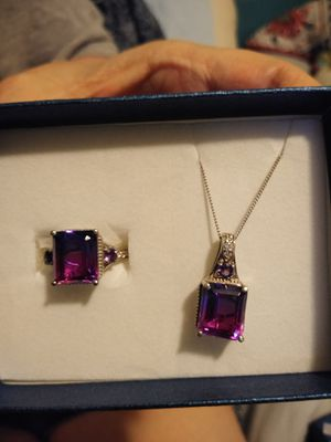 Necklace and ring for Sale in Acworth, GA