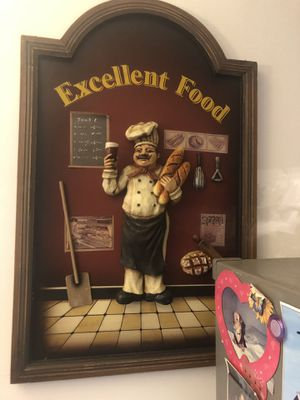 Perfect condition beautiful my cook kitchen decor handmade. for Sale in Springfield, VA