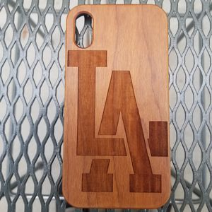 LA design laser engraved wood case for Sale in Newport Beach, CA
