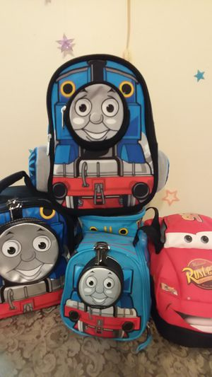 Thomas and Friends & Disney Cars Bags for Sale in Baltimore, MD
