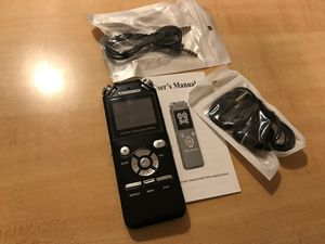 8 GB recorder and MP3 player for Sale in McLean, VA