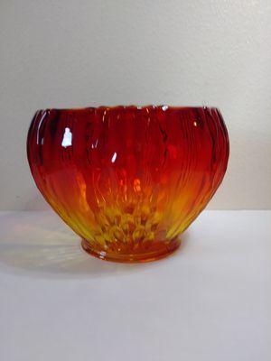 Antique Vintage amberina glass bowl for Sale in American Fork, UT