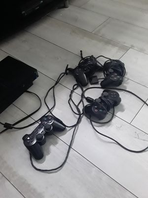 Ps2 four controllers and memory card for Sale in Columbus, OH