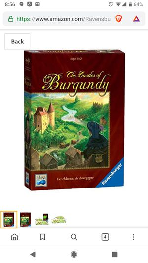 Castles of burgundy board game, new in shrink for Sale in Ontario, CA