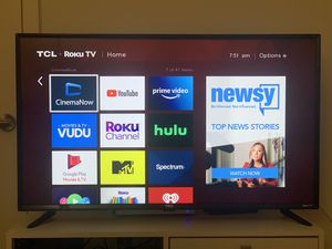 "TCL 40"" Roku Smart TV for Sale in Huntington Beach, CA"